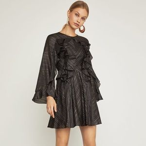 BcbgMaxAzria ruffled dress